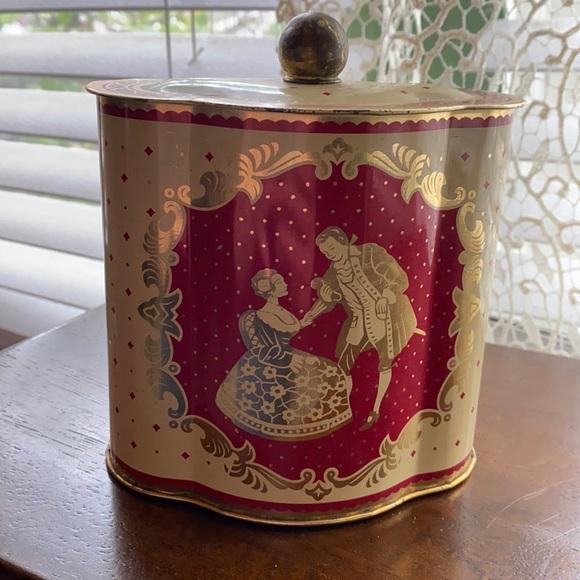 Vintage Western Germany Tea Tin